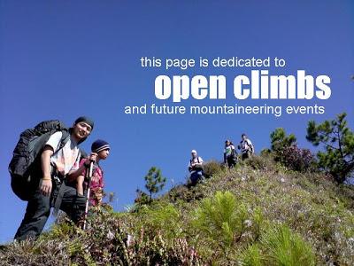 open-climbs