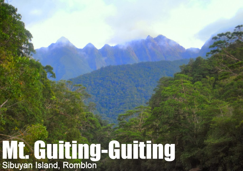 mt guitingguiting traverse 2058 pinoy mountaineer