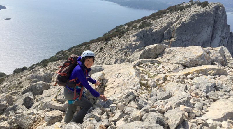 Hiking matters #486: The via ferrata ascent up Monte Cannone in the Mediterranean island of Tavolara, Italy