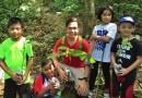 Pinoy Mountaineer Climbs with Kids in Manabu Peak!