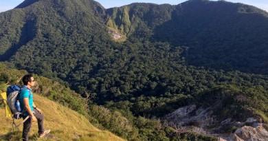 Cagua Volcano Crater in Gonzaga, Cagayan, Philippines