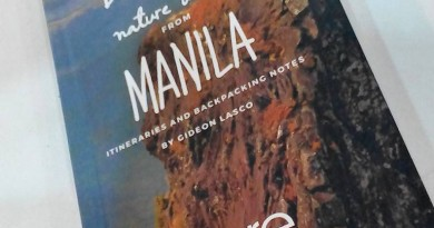 """""""Dayhikes and Nature Walks from Manila"""" by Gideon Lasco now available!"""