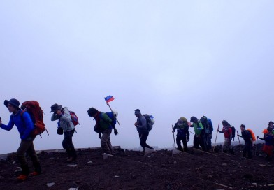 Essay: To all the hikers I've climbed with before