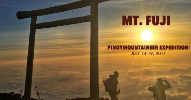 Join the Pinoy Mountaineer Mt. Fuji Expedition 2017!