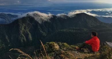 Volcan Baru summit
