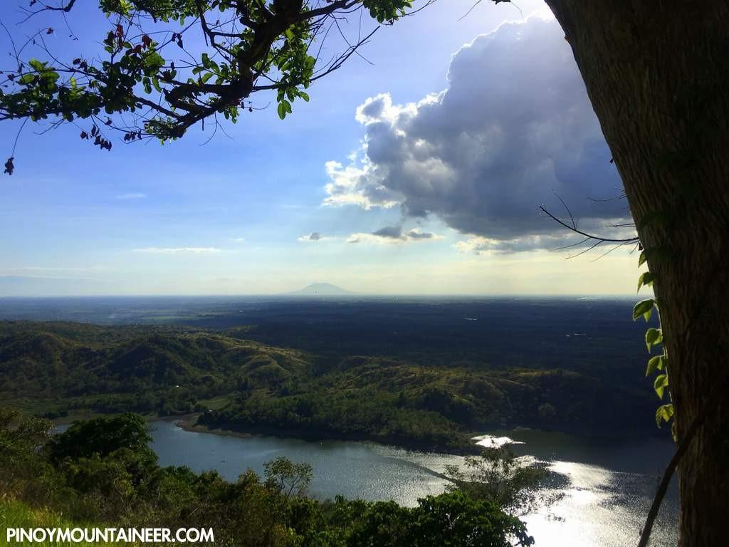 Mt. Arayat as viewed from Mt. Mapait