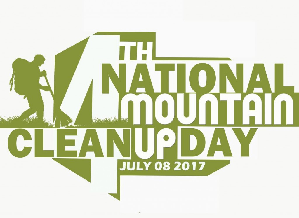 National Mountain Cleanup Day 2017 logo