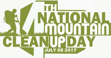 Guiding Document: 4th National Mountain Cleanup Day, July 8, 2017