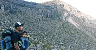 Meet Baby Basti, the one-year old who has reached Mt. Apo!