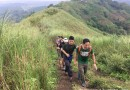 Visually-impaired teenager Jerald Polintan reaches his 2nd summit in Mt. Batulao