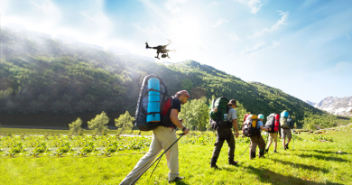 Drone etiquette for the outdoors