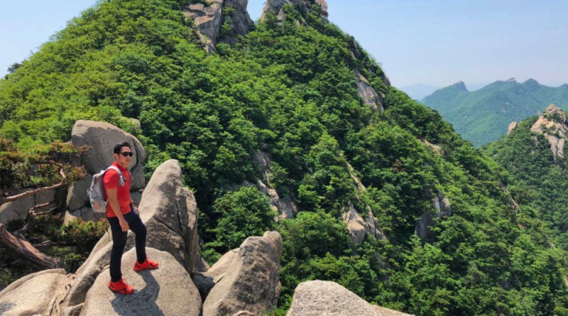 Hiking matters #595: A dayhike up Baegundae Peak, Mt. Bukhansan, Korea