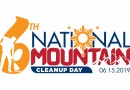 Announcing the 6th National Mountain Cleanup Day on June 15, 2019