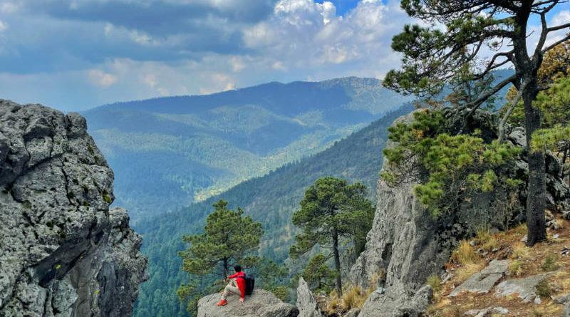 Hiking matters #653: Cerro San Miguel (3760m) in Desierto de los Leones, Mexico City